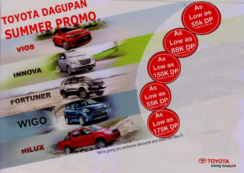 TOYOTA DAGUPAN CITY LYOD UNGRIA 0917-3652064