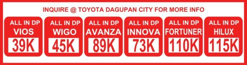 TOYOTA DAGUPAN CITY, INC. NEW BER MONTHS PROMO 2017